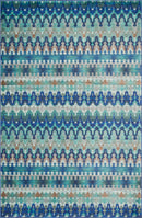 "MZ-14 BLUE / MULTI 1'-6"" x 1'-6"" Sample Swatch"