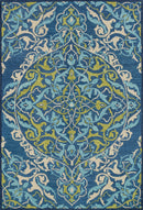 "MF-16 BLUE / LIME 5'-0"" x 7'-6"""