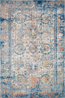MED-04 BLUE / MULTI 6' x 8'-8""
