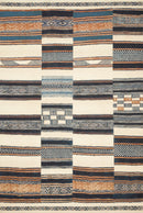 "MIK-04 IVORY / MULTI 1'-6"" x 1'-6"" Sample Swatch"