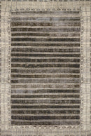 "MIK-07 CHARCOAL / IVORY 1'-6"" x 1'-6"" Sample Swatch"