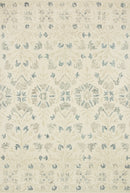"NOR-02 IVORY / GREY 1'-6"" x 1'-6"" Sample Swatch"