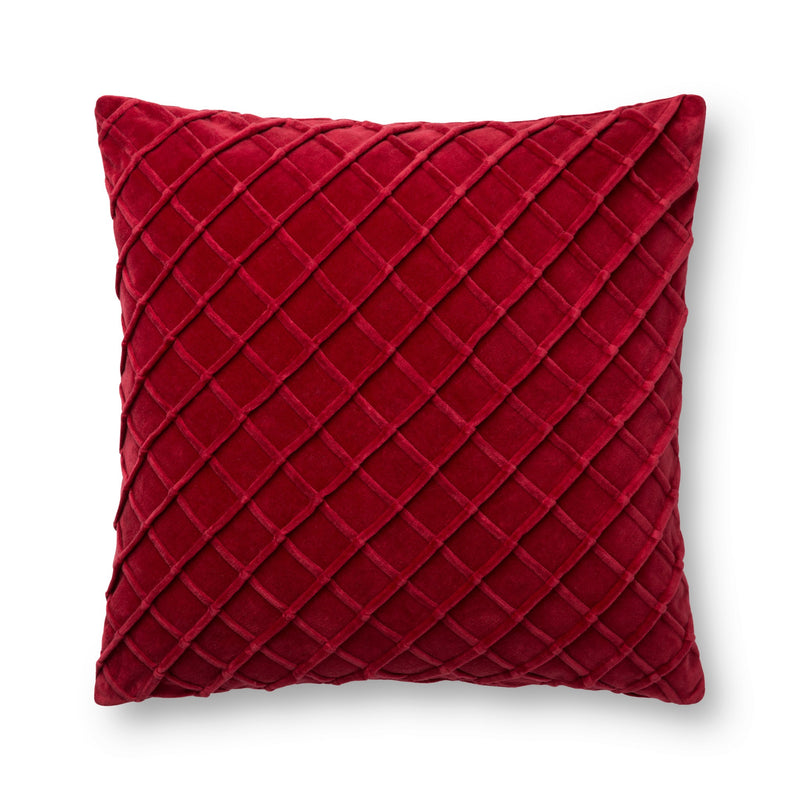 Loloi Pillows P0125 RED