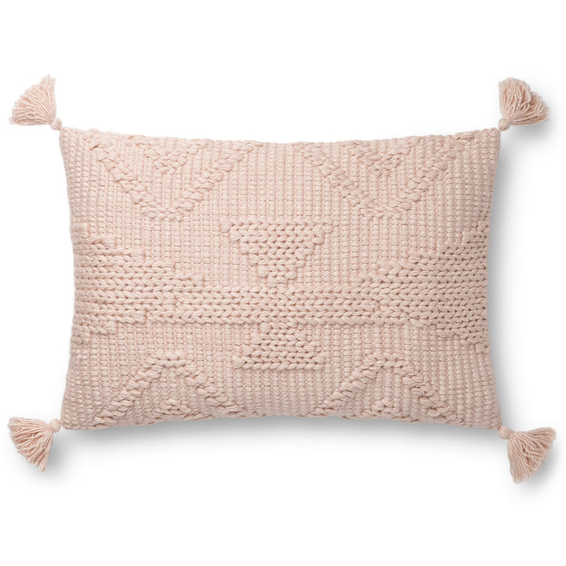 Loloi Pillows P0828 BLUSH