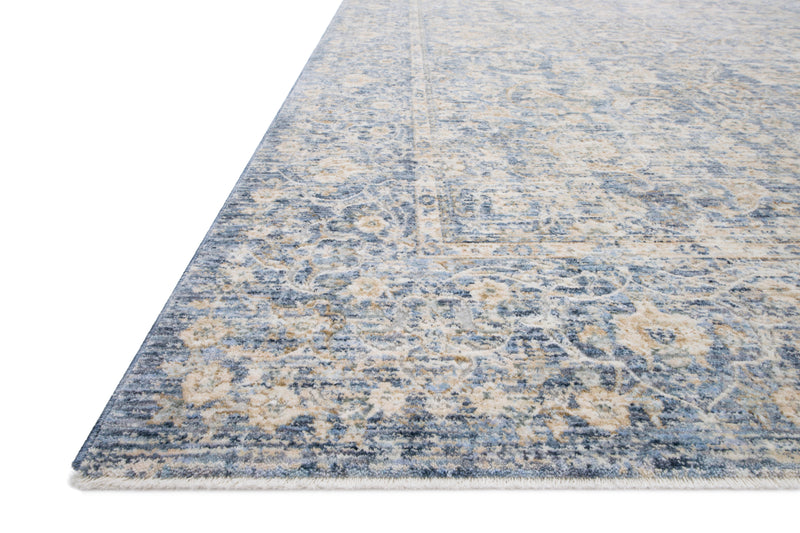 "PAN-01 BLUE / GOLD 9'-6"" x 12'-5"""