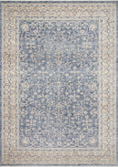 "PAN-04 DARK BLUE / IVORY 6'-3"" x 8'-10"""