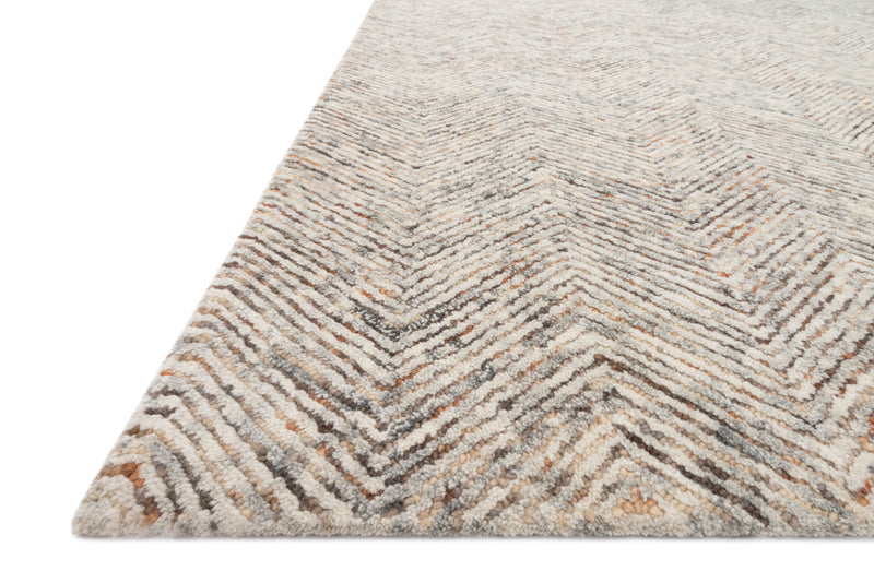 "PER-02 LT GREY / MULTI 9'-3"" x 13'"
