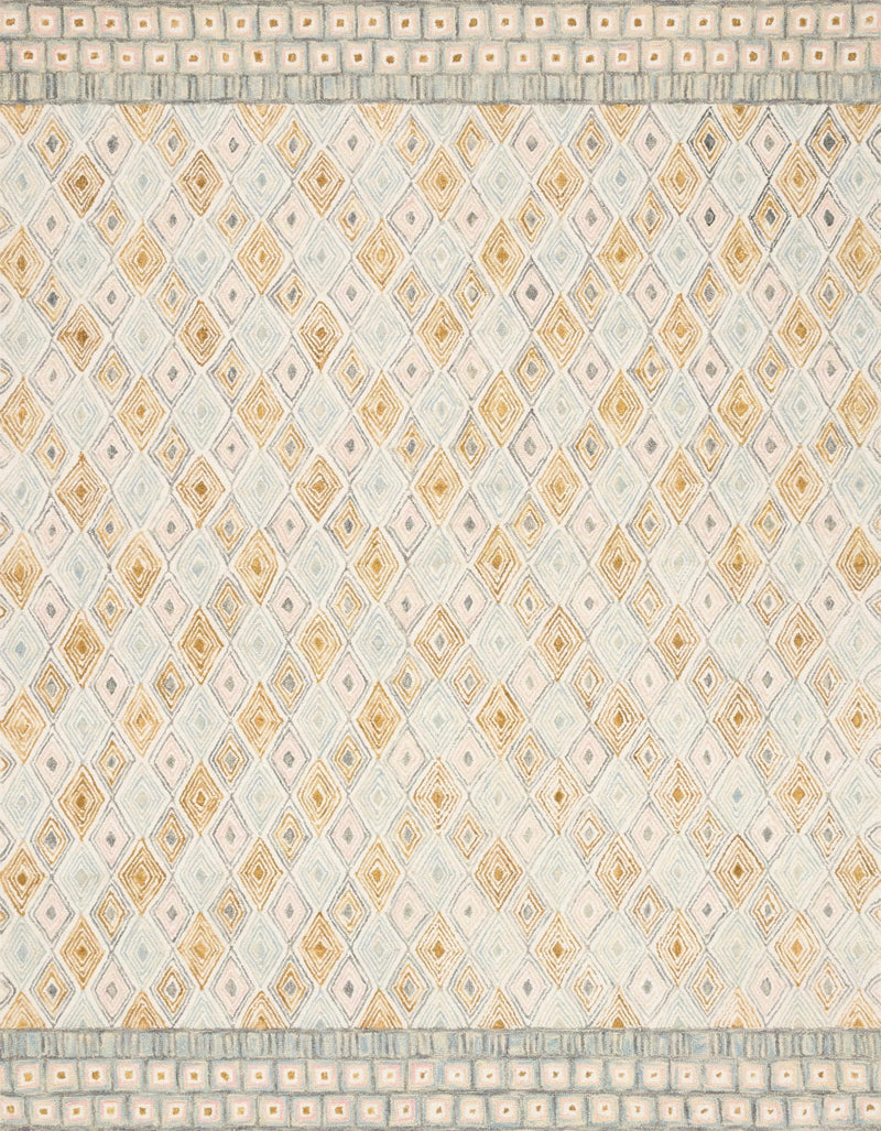 "PRT-05 MIST / GOLD 1'-6"" x 1'-6"" Sample Swatch"