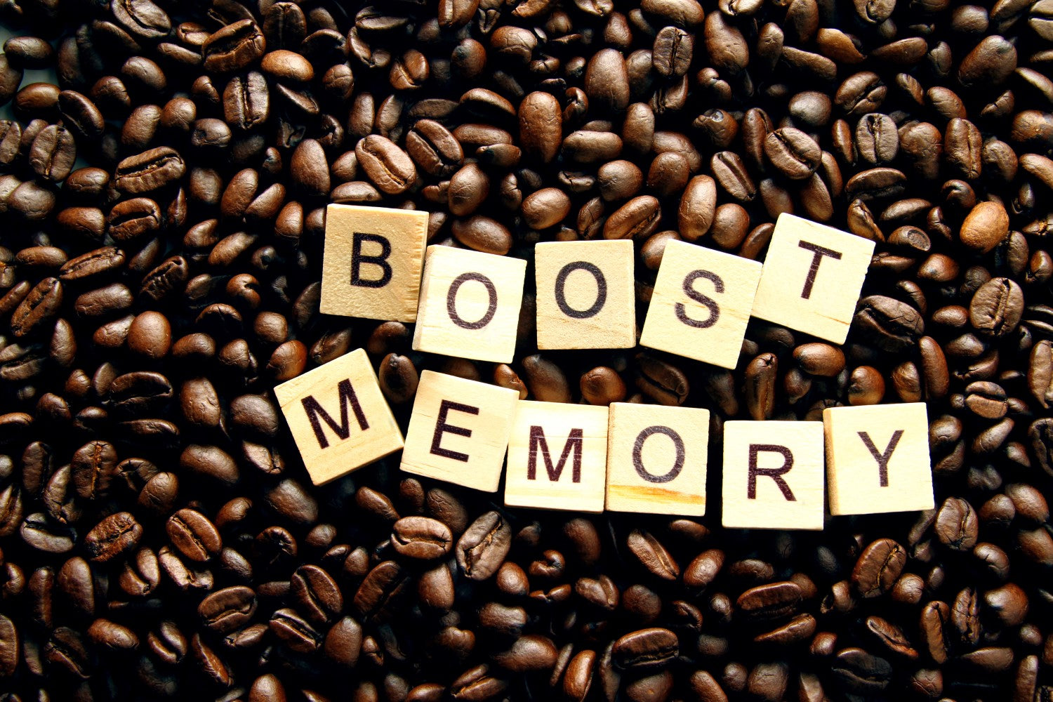 boost memory and coffee beans