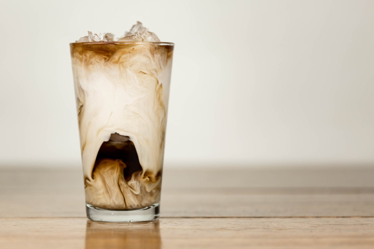iced and cold coffee