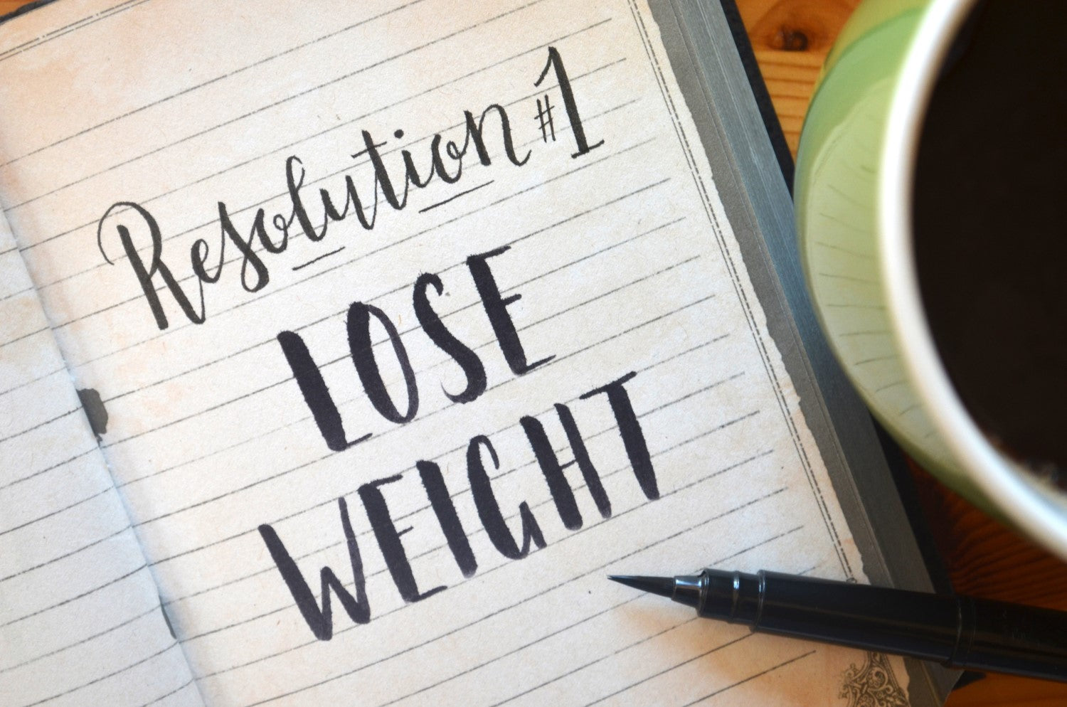 resolution #1 lose weight