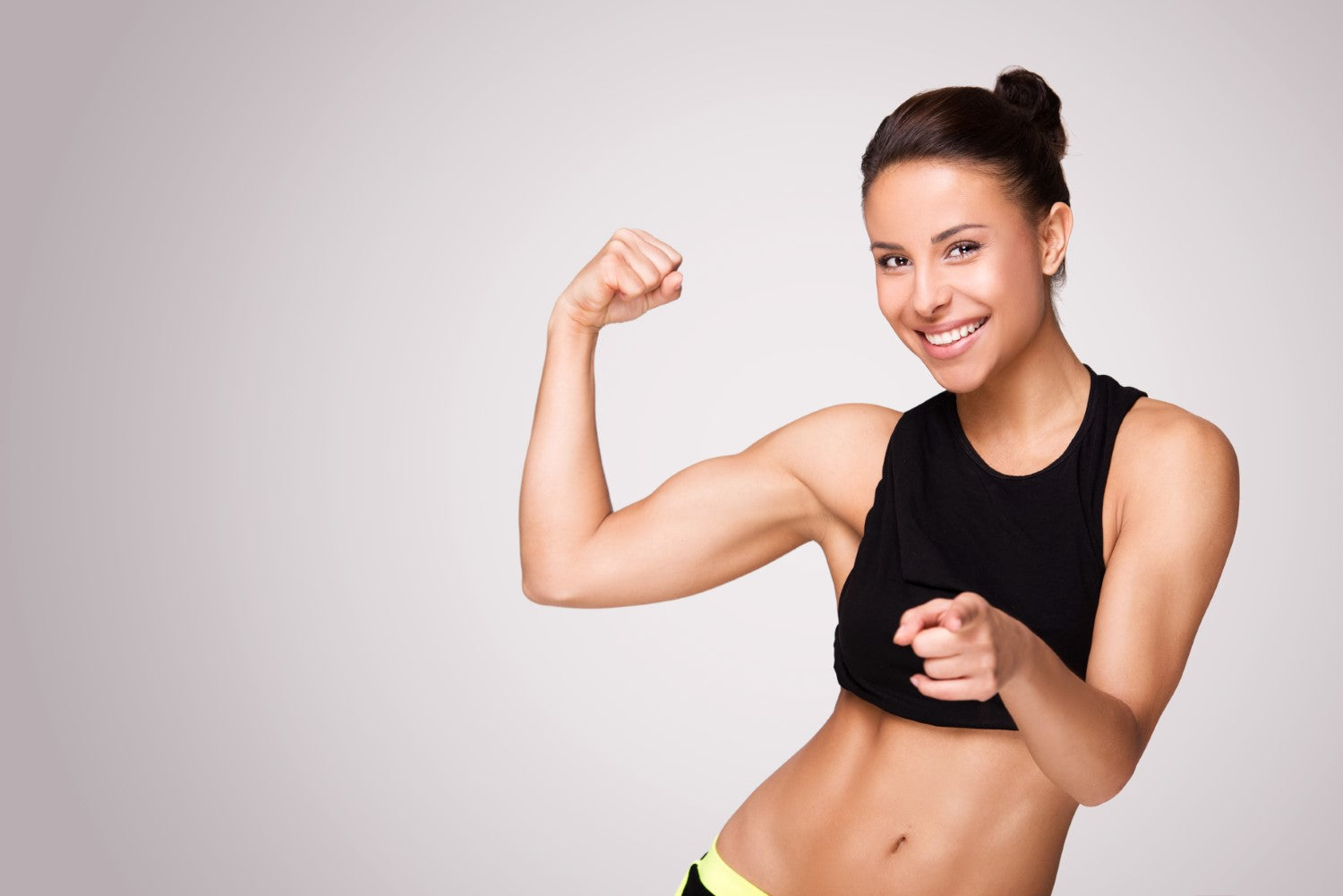 physically fit lady