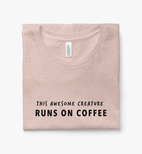 This Awesome Creature Runs on Coffee