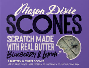 Blueberry Lemon Scones