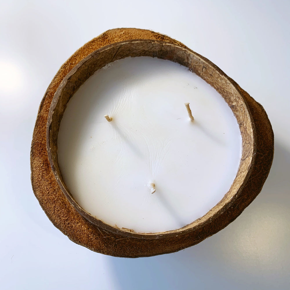 Candle ~ Coconut Husk