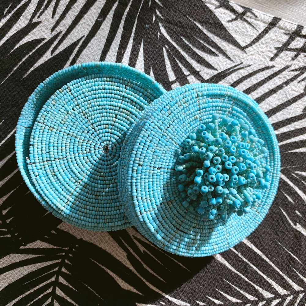 Load image into Gallery viewer, Coasters (set of 10) ~ Turquoise