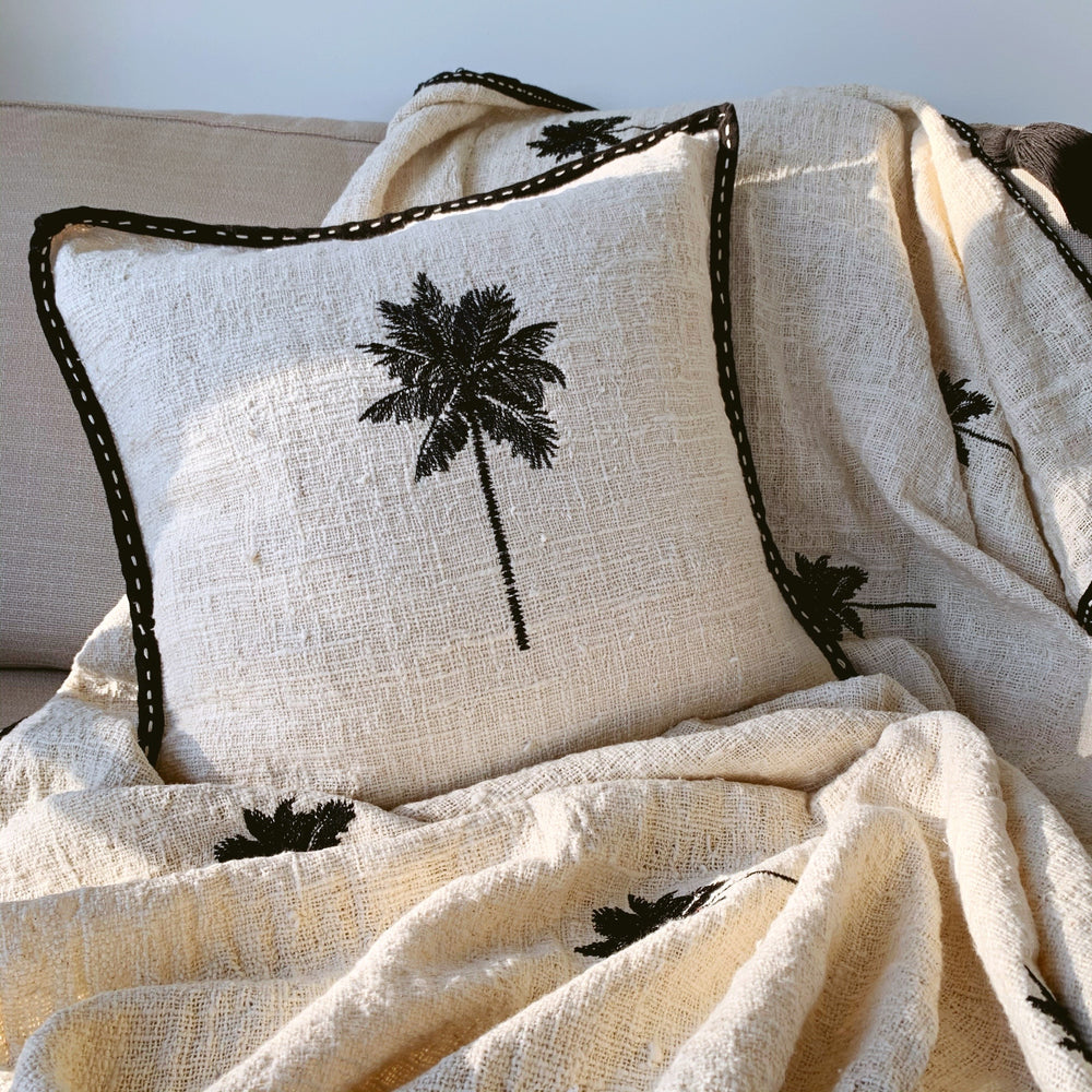 Cushion ~ Palm Trees