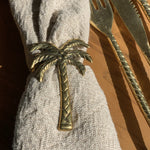 Napkin Ring ~ Palm Tree