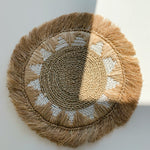 Placemat ~ Natural Grass Straw