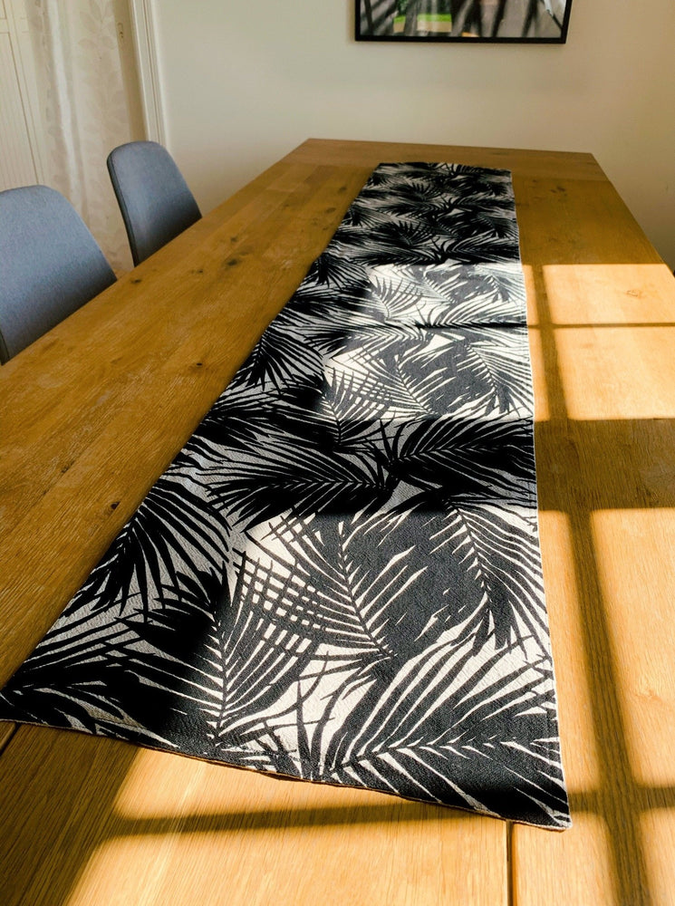 Palm Tree Table Runner