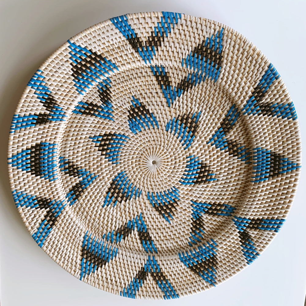 Wall Decor ~ Plates, Blue Coast