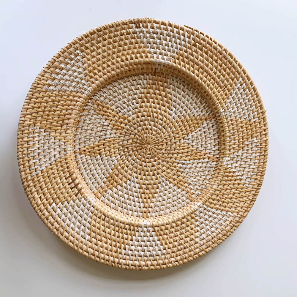 Wall Decor ~ Plate, Natural Star