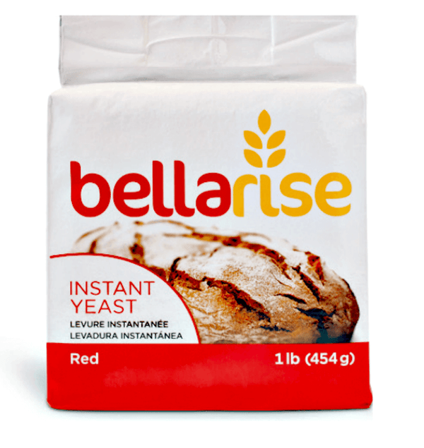 Bellarise Instant Dry Yeast Red Label, 1 LB 454 GR - Happy Sourdough