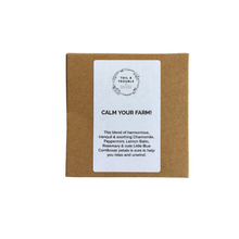 Load image into Gallery viewer, Calm Your Farm! Herbal Infusion Tea