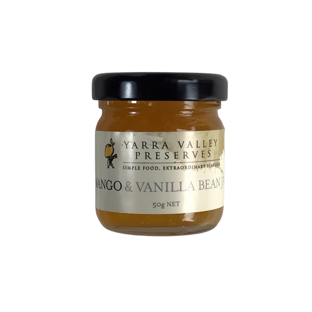 Mango & Vanilla Bean Jam - Sample