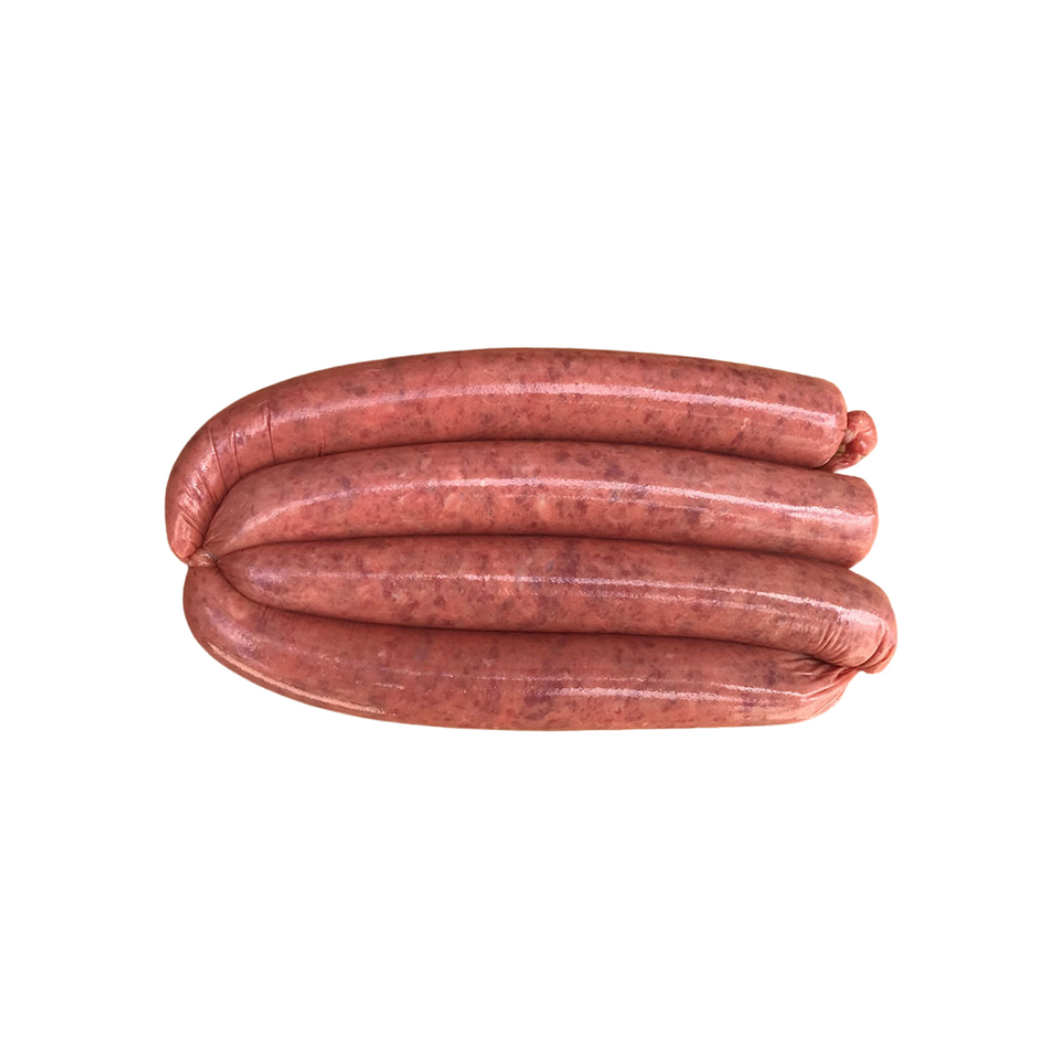 Thin Beef Sausages