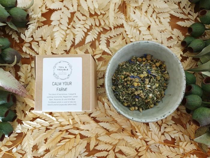 Calm your Farm! Herbal Infusion