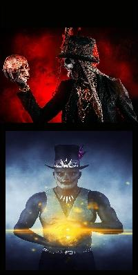Baron Samedi 8 & Voodoo Priest 1 (VD6) | Aisle 13 at Pittsburgh poster
