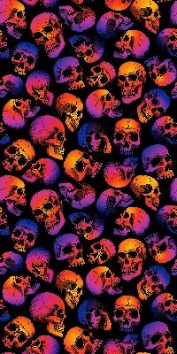 Multi-color Skull Wall CP001 | Aisle 13 at Pittsburgh poster
