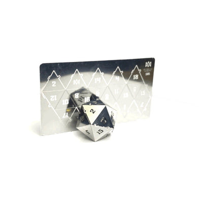 Tin20 - Foldable Metal D20 Puzzle