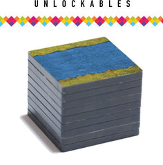 Several packs of tiles will be unlockable during the Kickstarter to give unique pieces to your collection.