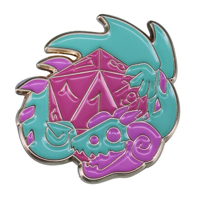 7 Different Tabletop Enamel Pins Mythroll Armory 03