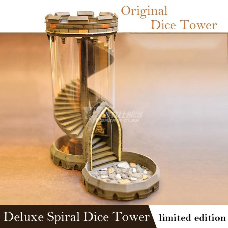 Spiral Staircase Dice Tower Dice Tower Mythroll Armory