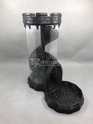 Spiral Staircase Dice Tower Dice Tower Mythroll Armory dungeon armory black