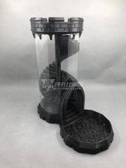 Spiral Staircase Dice Tower Dice Tower Mythroll Armory maple dungeon black