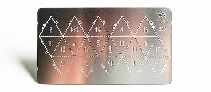 Tin20™ Metal Dice Puzzle Dice Mythroll Armory