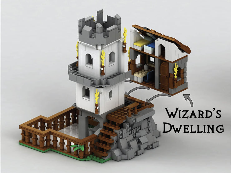 Wizards Dice Tower by Game Tank Dice Tower Mythroll Armory