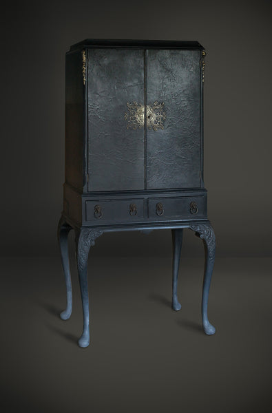 Blue Drinks Cabinet Similar Available By Commission