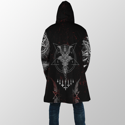 Satanic Hooded Coat MP851
