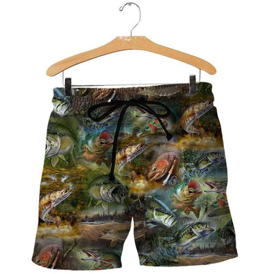 3D ALL OVER PRINTED FISH CAMO HC3710 - 4zOutfitters Merchandise