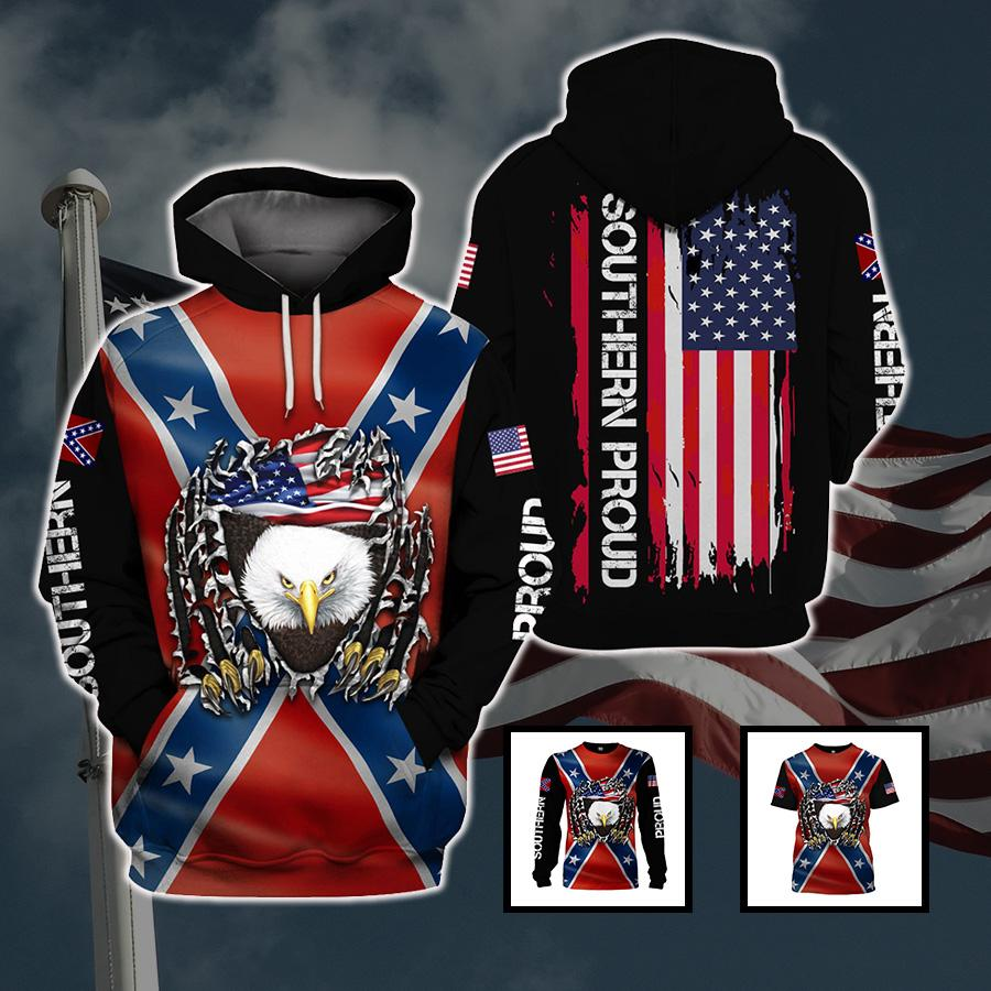 3d America Apparel - Southern Proud 3