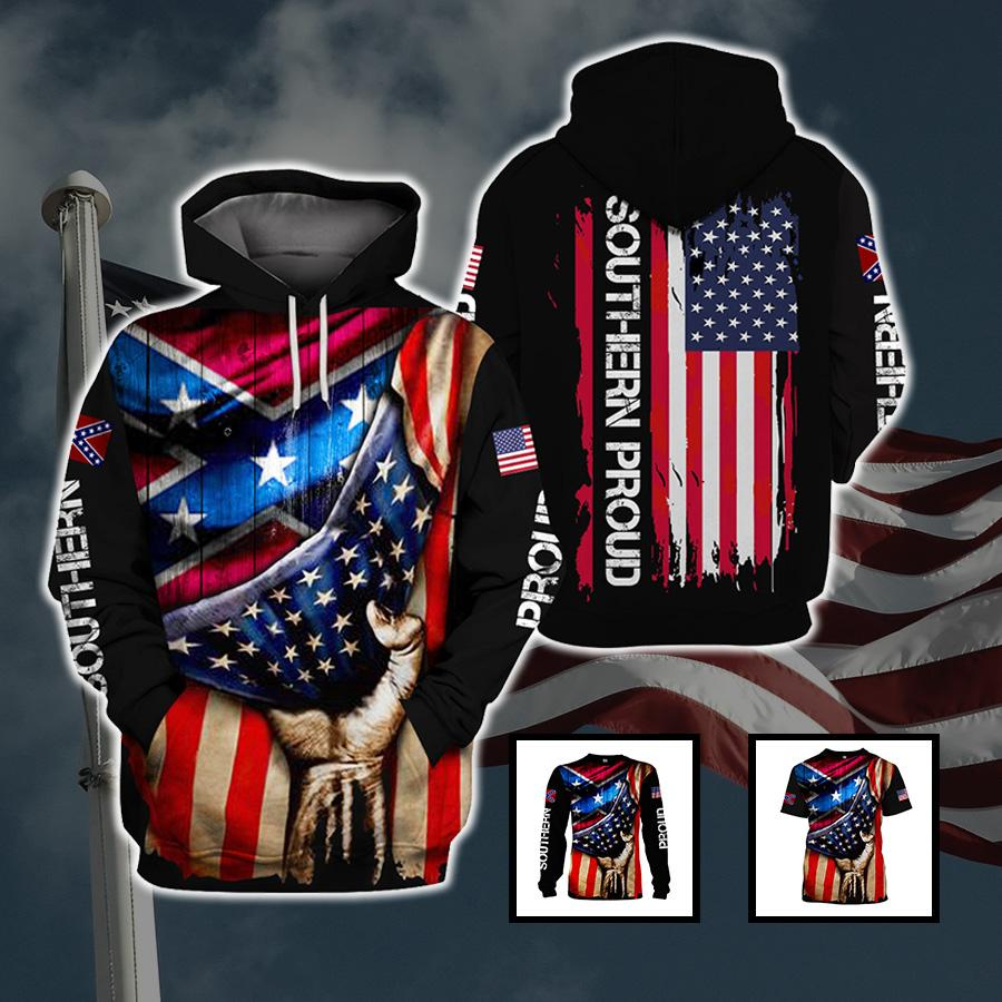 3d America Apparel - Southern Proud 2