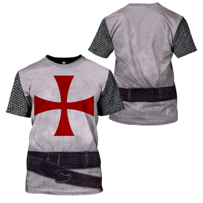 3D Cosplay Apparel - Knights Templar Warriors - 4zOutfitters Merchandise