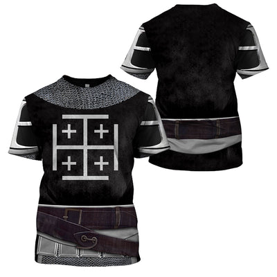3D Knight Apparel - Knight Templar Warriors