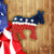 American Patriotic Donkey Wreath - 2020 Election - LIMITED EDITION