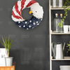 Special Patriotic American Bald Eagle Wreath - 4zOutfitters Merchandise